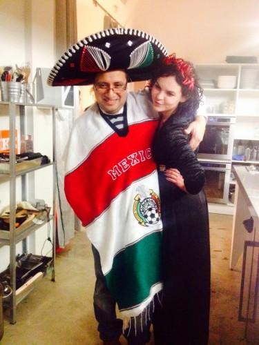 Ponia Urtė ir Mexican chef Rodrigo