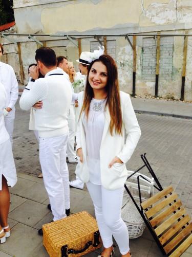 Diner en Blanc Vilnius  Kristina Sirik