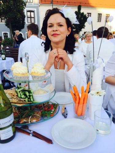 Diner en Blanc Vilnius Urtė Mikeleviciute
