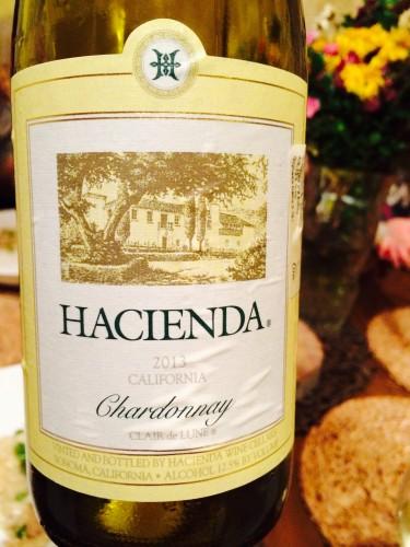 Haciende Kalifornijos chardonnay California wine risotto