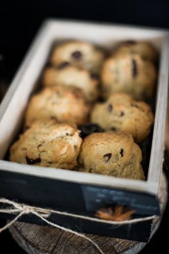 sausainiai su šokoladu ciop ciop Kalėdos