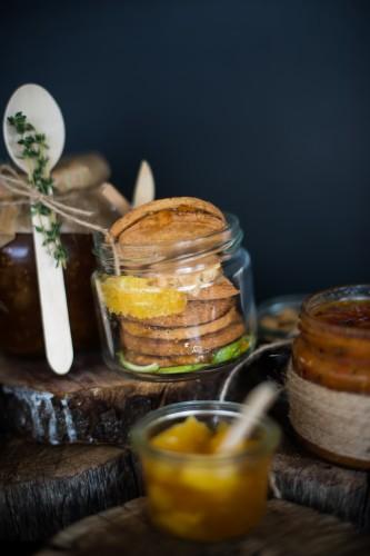 sausainiai su apelsinu marmeladu ciop ciop Kaledos