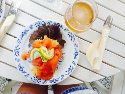 salmon norway breakfast