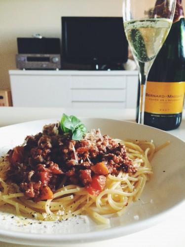 Pasta Bolognese Wine Pairing vyno deriniai pasta bolognese
