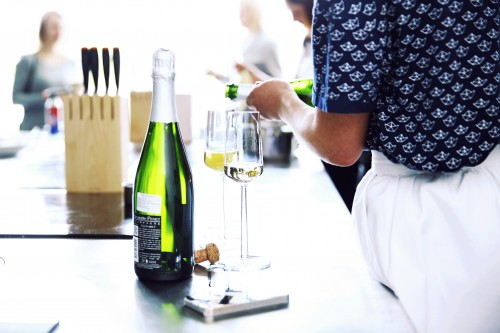šampanas burbuliukai