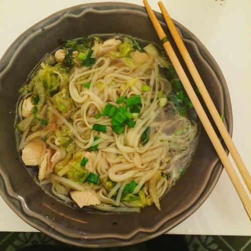 Thai chicken soup Tailandietiska vistienos sriuba