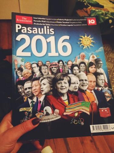 The Economist Pasaulis 2016