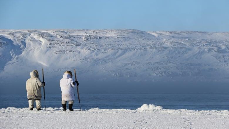 Eskimai, gyvenantys prie Šiaurės jūros