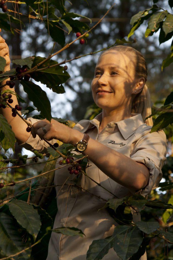kavos ekspertė Anna Vänskä
