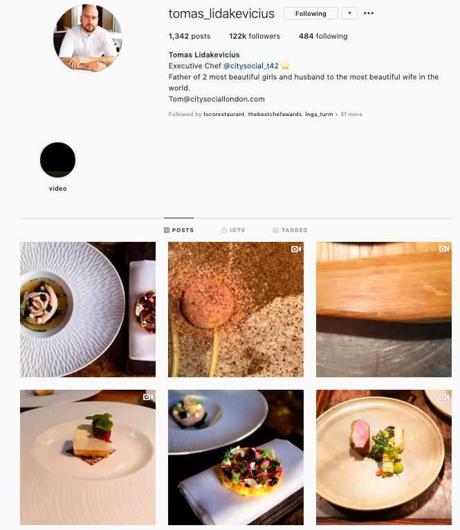 Tomas Lidakevicius instagram