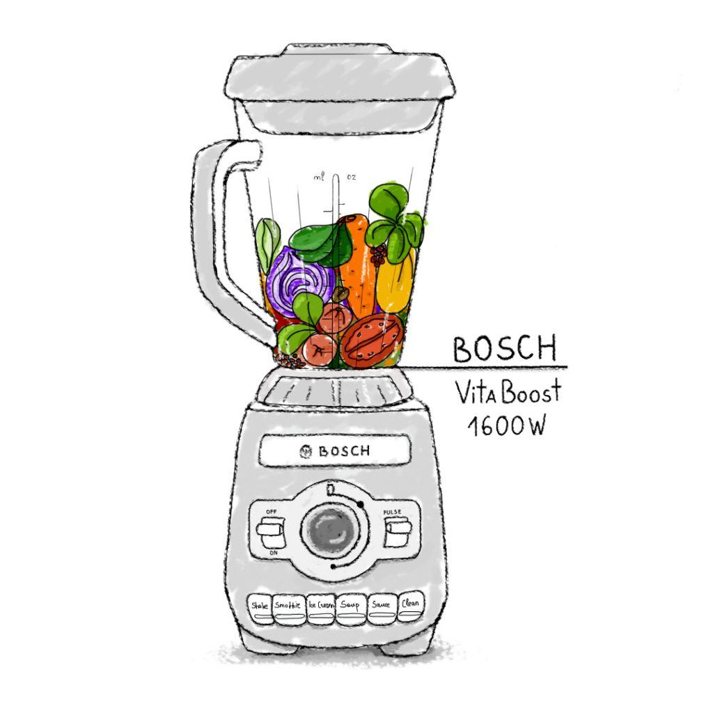 Bosch Vitaboost 1600W